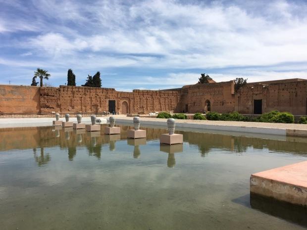 Palais El Badiî, Marrakech