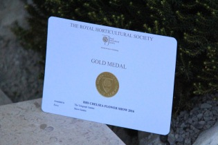 Andy Sturgeon: The Telegraph Garden Gold medal