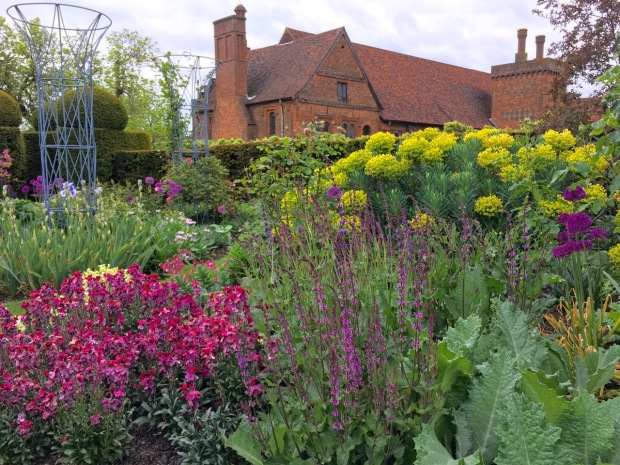 Colour in the West Garden at Hatfield House