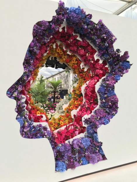 New Covent Garden Flower Market by Ming Veevers Carter at Chelsea 2016