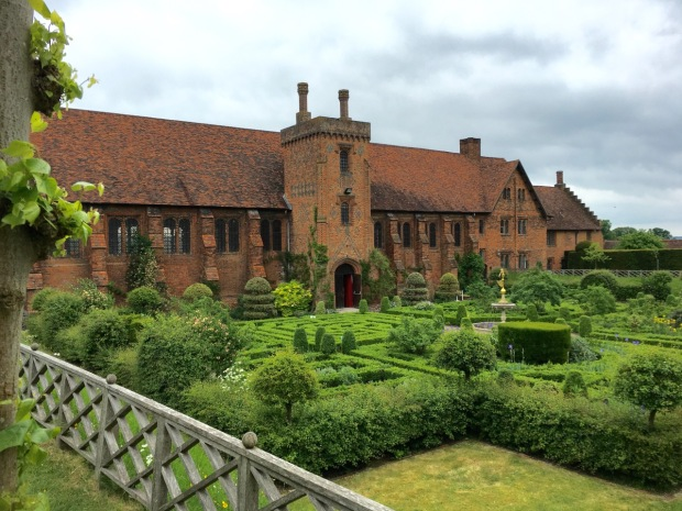 The Old Palace Garden, Hatfield House