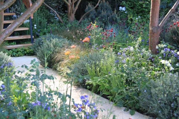 These soft, muted colours would be perfect in an Australian garden. Nick Bailey