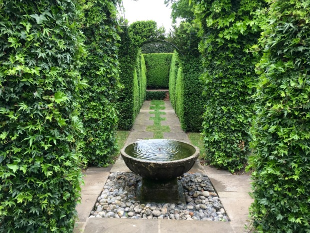 Water bowl at Hatfield House