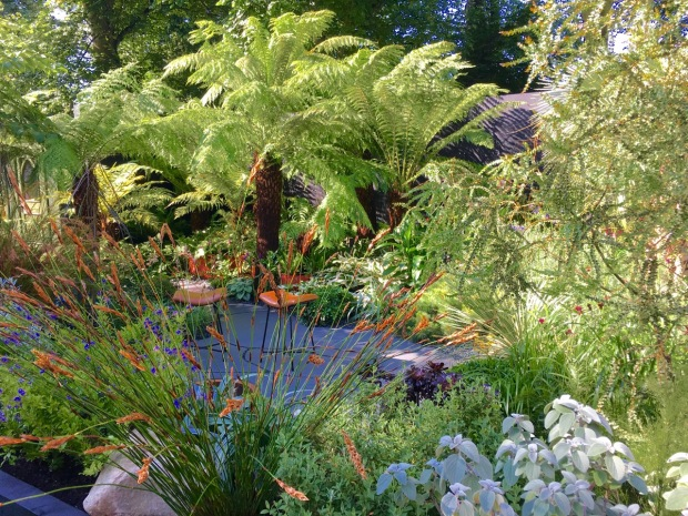Hampton 2016: The Bowel Disease Garden by Andrew Fisher Tomlin and Dan Bowyer