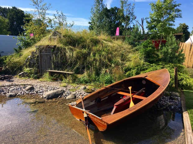 Hampton 2016: The Viking Cruises Scandinavian Garden by Stephen Hall