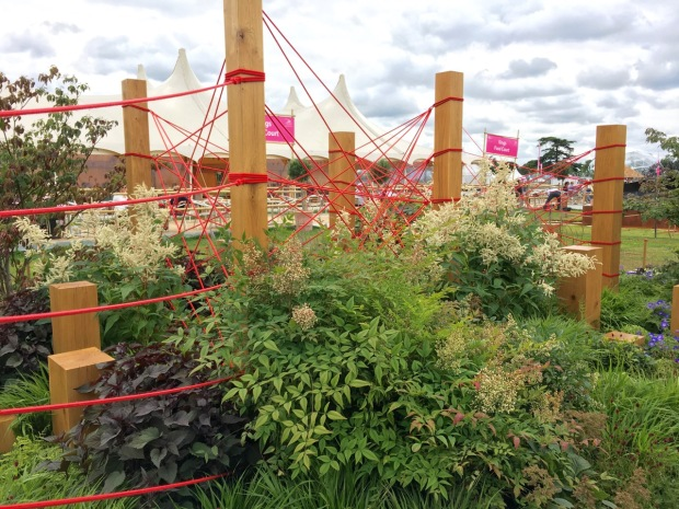 Hampton 2016: The Red Thread Garden by Robert Barker