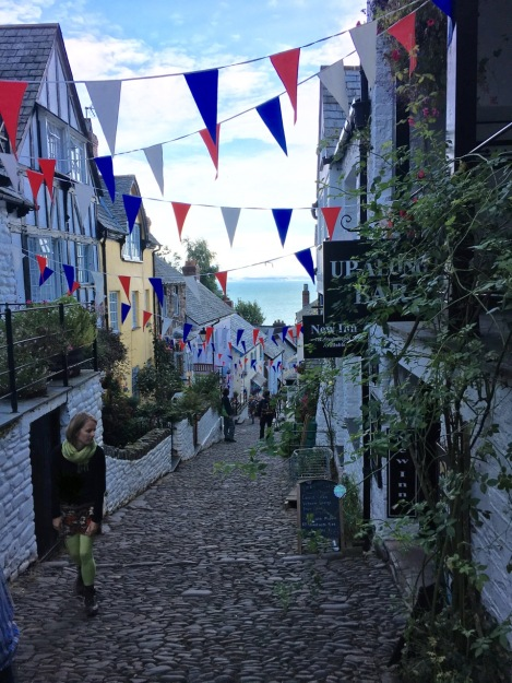 The cobbled streets of picturesque Clovelly