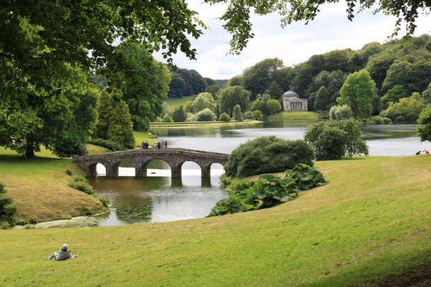 The Palladian Bridge and Pantheon at Stourhead