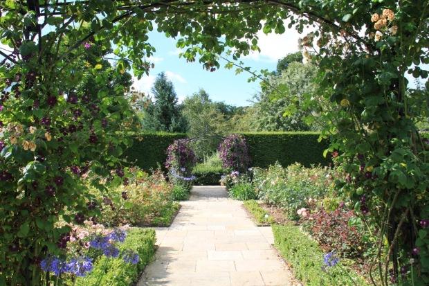 The Queen Mother's Rose Garden at Rosemoor