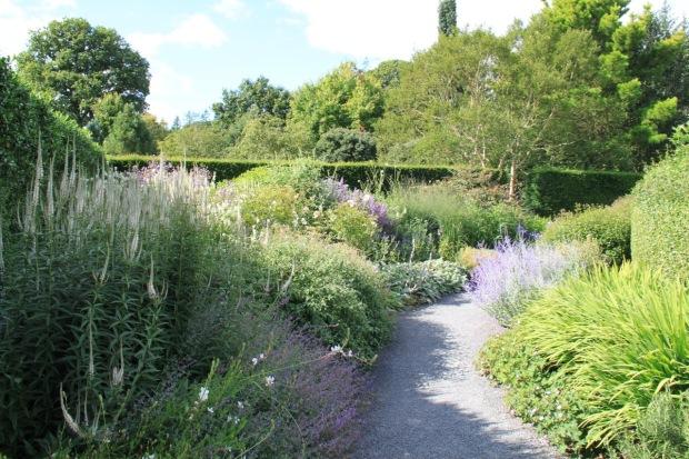 The Spiral Garden at Rosemoor