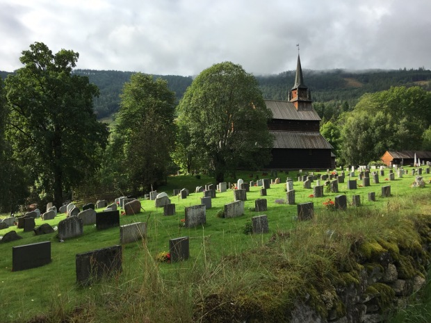 Urnes 12th century, UNESCO listed, stave Church: the staves were carved from 300+ year old pine trunks, meaning they were saplings in around 800AD! The timber is so hard it is impenetrable to insects