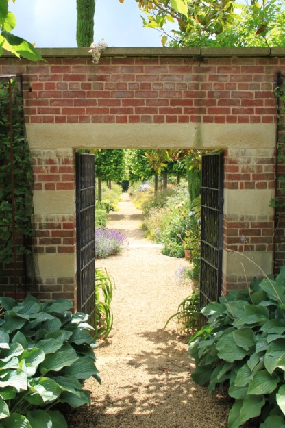 Before you even step through the gate into the walled garden in Broughton Grange, you get a sense of the magic you are about to experience