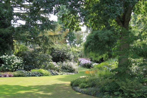 Beth Chatto's traditional garden is maintained immaculately