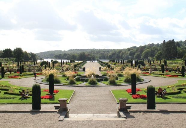 The Tom Stuart-Smith designed Italian Garden at Trentham