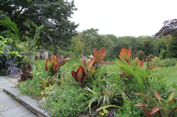You wouldn't call Chanticleer a low maintenance garden; there are huge numbers of frost-tender plants which get packed up before the winter snow arrives