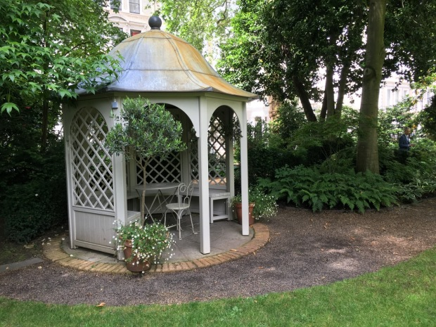A Victorian style gazebo was added to the garden in 2012, enabling residents to enjoy the garden in all weathers