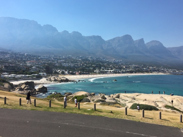 Beaches and mountains on the Cape Peninsula