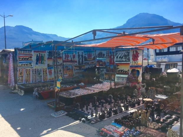 Hout Bay markets, Western Cape