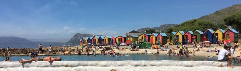 St James Beach beach huts